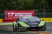 View article: Mixed conditions during Free Practice, Lamborghini on top