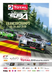 View article: 2019 Total 24 Hours of Spa kicks off with vibrant official poster