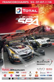 View article: Official poster for the Total 24 Hours of Spa released