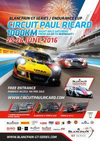 Circuit Paul Ricard Endurance 1000kms Poster