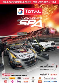 Belgium Total 24 Hours of Spa Poster