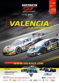 Circuit Ricardo Tormo Valencia Poster