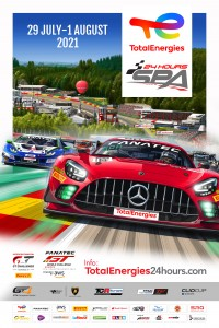 TotalEnergies 24 Hours of Spa Poster