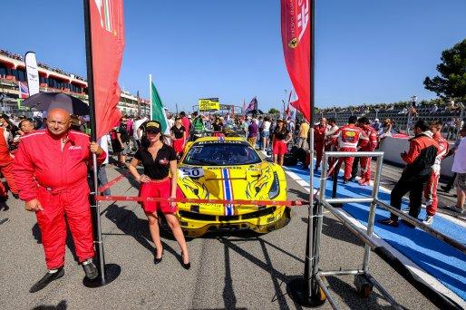 Grid Walk Main Race - #50 AF Corse Ferrari 488 GT3