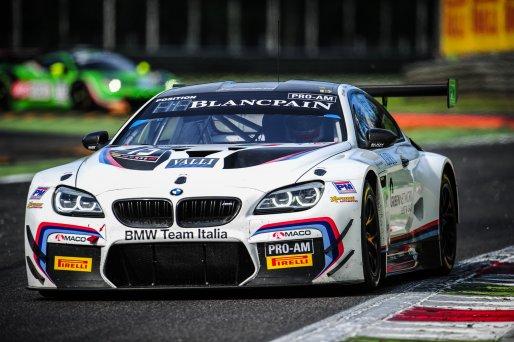 #15 BMW TEAM ITALIA (ITA) BMW M6 GT3 MAX KOEBOLT (NDL) STEFANO COLOMBO (ITA) GIORGIO RODA (ITA) | PASCAL SAIVET / VISION SPORT AGENCY