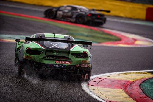 #488 Rinaldi Racing DEU Ferrari 488 GT3 Pierre Ehret DEU Martin Berry AUS Jose Manuel Balbiani ARG Rory Penttinen FIN Am Cup, Race  | SRO / Kevin Pecks-1VIER