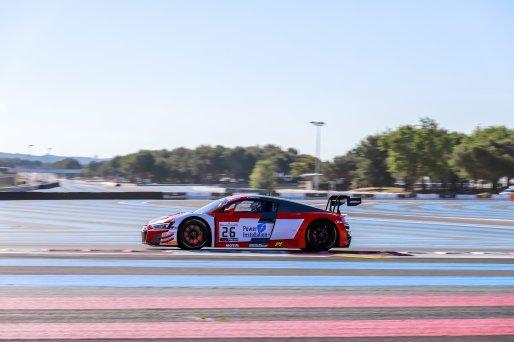 #26 Sainteloc Racing FRA Audi R8 LMS GT3 2019 Philippe Chatelet FRA Pierre Yves Pâque FRA Christoph Lenz - Pro-Am Cup, Bronze test    PATRICK HECQ PHOTOGRAPHY