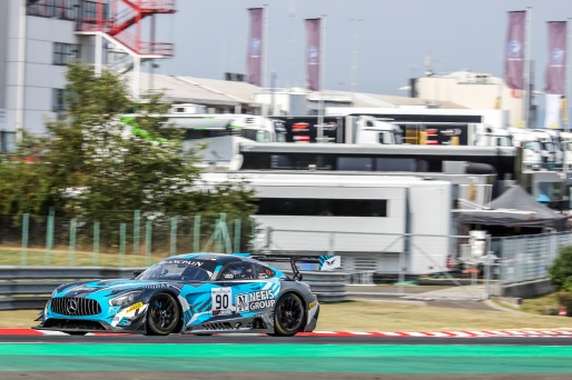 #90 Akka ASP Team FRA Mercedes-AMG GT3 Timur Boguslavskiy RUS Felipe Fraga BRA Silver Cup, Free Practice 1  | SRO / Patrick Hecq Photography