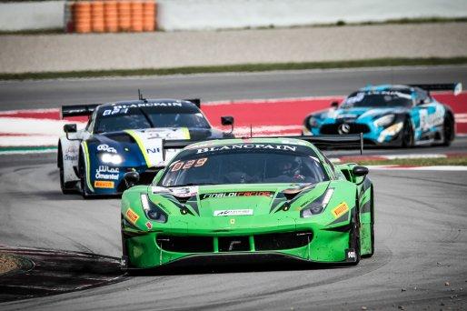 #33 Rinaldi Racing DEU Ferrari 488 GT3 Manuel Lauck DEU Christian Hook DEU Steve Parrow DEU Am Cup, Friday Sessions  | SRO / Patrick Hecq Photography