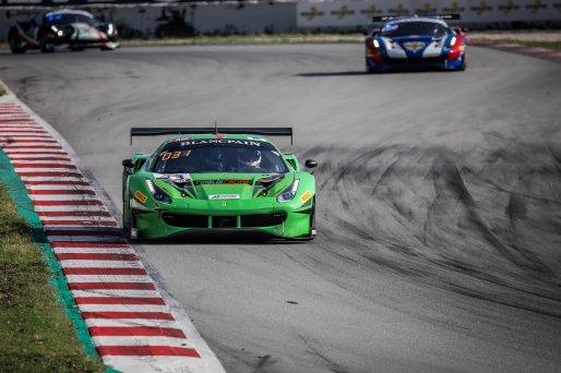 #33 Rinaldi Racing DEU Ferrari 488 GT3 Manuel Lauck DEU Christian Hook DEU Steve Parrow DEU Am Cup, Free Practice  | SRO / Patrick Hecq Photography