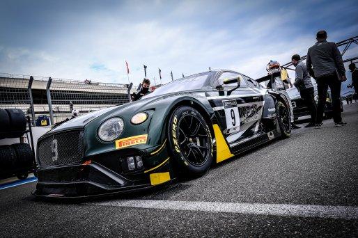 #9 K-Pax Racing USA Bentley Continental GT3 - Jordan Pepper ZAF Alvaro Parente PRT Andy Soucek ESP, Gridwalk, Race  | SRO / Dirk Bogaerts Photography