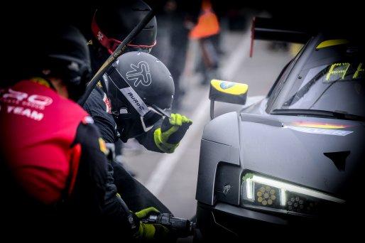 #66 Attempto Racing DEU Audi R8 LMS GT3 - Mattia Drudi ITA Kim-Luis Schramm DEU Frederick Vervisch BEL, Pitlane, Race  | SRO / Dirk Bogaerts Photography