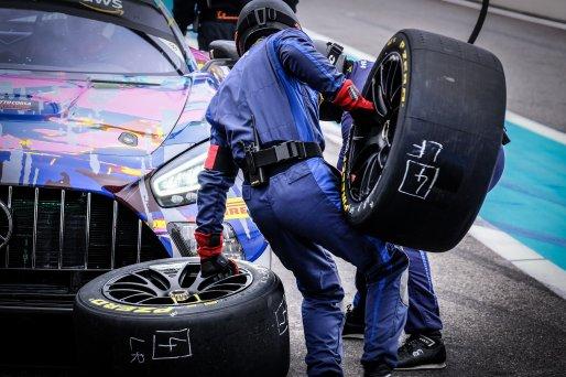 #74 Ram Racing GBR Mercedes-AMG GT3 Pro-Am Cup Tom Onslow-Cole GBR Martin Konrad AUT Remon Vos NDL, Pitlane, Race  | SRO / Dirk Bogaerts Photography