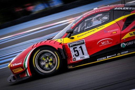 #51 AF Corse ITA Ferrari 488 GT3 - Alessandro Pier Guidi ITA Tom Blomqvist GBR Côme Ledogar FRA, Race    SRO / Dirk Bogaerts Photography