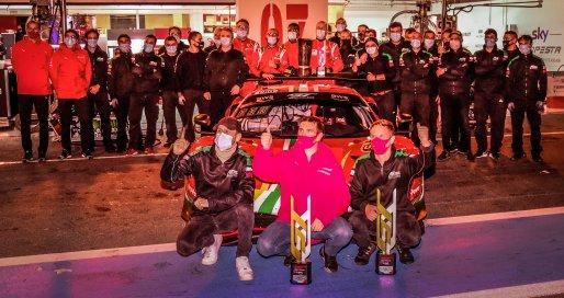 #51 AF Corse ITA Ferrari 488 GT3 - Alessandro Pier Guidi ITA Tom Blomqvist GBR Côme Ledogar FRA, Champions    SRO / Dirk Bogaerts Photography