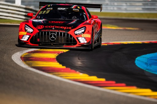 #5 HRT DEU Mercedes-AMG GT3 Silver Cup, Test Days Total 24H of Spa    SRO / Brecht Decancq Photography