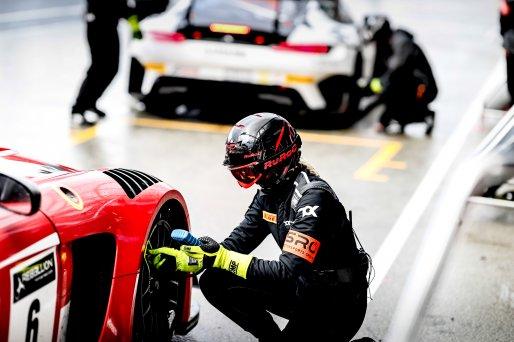 #6 TokSport WRT DEU Mercedes-AMG GT3 Silver Cup Robin Rogalski POL Romain Monti FRA, Pitlane, Qualifying  | SRO / Patrick Hecq Photography