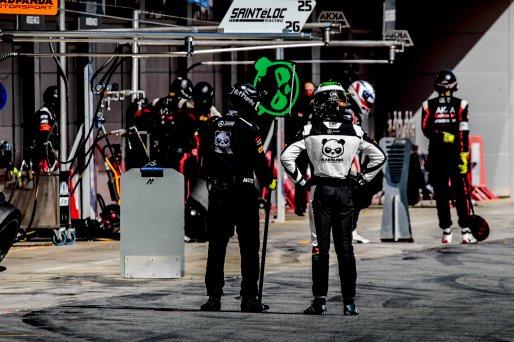 #90 Madpanda Motorsport ESP Mercedes-AMG GT3 Silver Cup Axcil Jefferies ZWE Ezequiel Perez Companc ARG, Pit Lane, Race 2  | SRO / Patrick Hecq Photography