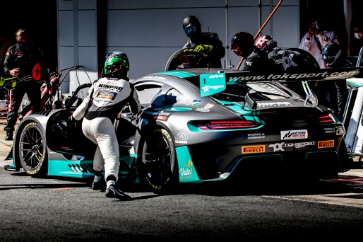 #2 TokSport WRT DEU Mercedes-AMG GT3 Silver Cup Puhakka Juuso  FIN Oscar Tunjo COL, Pit Lane, Race 2  | SRO / Patrick Hecq Photography