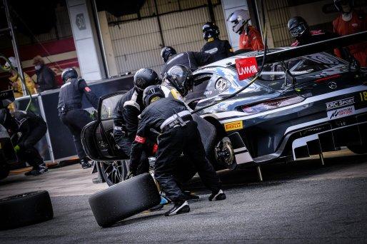 #18 ERC Sport GBR Mercedes-AMG GT3 Pro-Am Cup Lee Mowle GBR Phil Keen GBR, Pitlane, Race 3    SRO / Dirk Bogaerts Photography