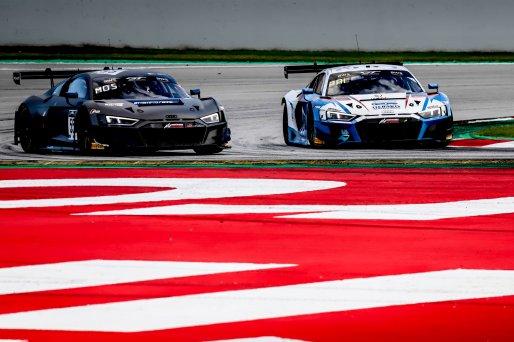 #26 Sainteloc Racing FRA Audi R8 LMS GT3 Silver Cup Steven Palette FRA Simon Gachet FRA, Race 3    SRO / Patrick Hecq Photography