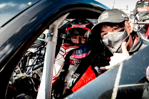 #31 Belgian Audi Club Team WRT BEL Audi R8 LMS GT3 - Ryuichiro Tomita JPN Kelvin van der Linde ZAF, Gridwalk, Race 3