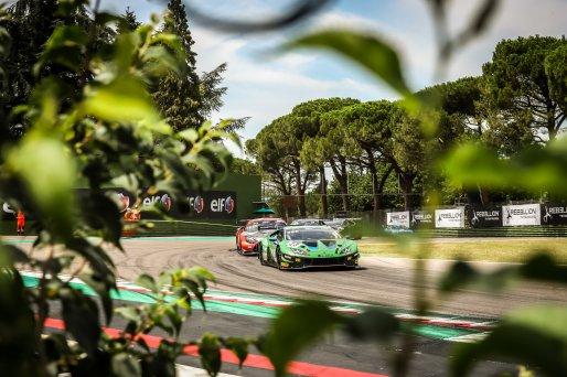#23 Imperiale Racing ITA Lamborghini Huracan GT3 Evo - Emilian Puscasu ROU Goivanni Venturini ITA Kikko Galbiati ITA, Race  | SRO / Patrick Hecq Photography