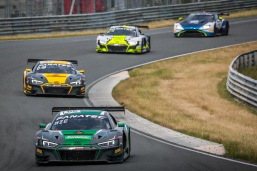 #66 Attempto Racing DEU Audi R8 LMS GT3 Jusuf Owega DEU Christopher Mies DEU Pro, Race 2