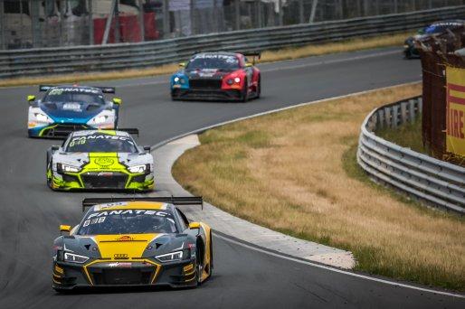 #55 Attempto Racing DEU Audi R8 LMS GT3 Alex Aka DEU Dennis Marschall DEU Silver Cup, Race 2