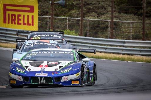 #14 Emil Frey Racing CHE Lamborghini Huracan GT3 Evo Alex Fontana CHE Ricardo Feller CHE Silver Cup, Race 2