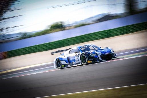 #25 Sainteloc Racing FRA Audi R8 LMS GT3 Leo Roussel FRA Christopher Haase DEU Pro, Qualifying 2  | SRO / Dirk Bogaerts Photography