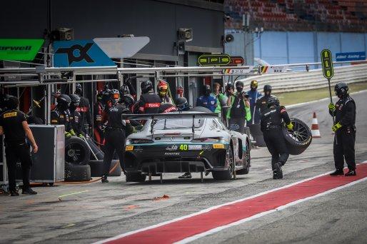 #40 SPS automotive performance DEU Mercedes-AMG GT3 Jordan Love AUS Lance David Arnold DEU Silver Cup, Pitlane, Race 2    SRO / Patrick Hecq Photography