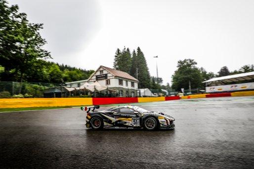 #51 Iron Lynx ITA Ferrari 488 GT3 - - Côme Ledogar FRA Nicklas Nielsen DNK Alessandro Pier Guidi ITA Pro Cup IGTC, Celebration, GT3, Race  | SRO / Jules Benichou - 21creation