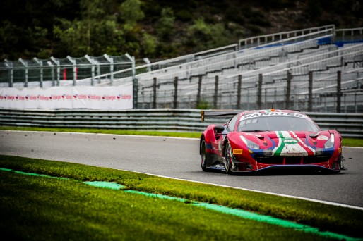 #52 AF Corse ITA Ferrari 488 GT3 Louis Machiels BEL John Wartique   BEL Andrea Bertolini ITA Alessio Rovera   ITA Pro-Am Cup IGTC, GT3, Race  | SRO / Jules Benichou - 21creation