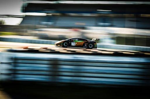 #19 Orange 1 FFF Racing Team CHN Lamborghini Huracan GT3 Evo Phil Keen GBR Stefano Costantini ITA Hiroshi Hamaguchi JPN Pro-Am Cup, Free Practice  | SRO / Patrick Hecq Photography