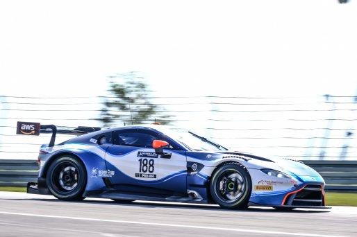 #188 Garage 59 GBR Aston Martin Vantage AMR GT3 Chris Goodwin GBR Alexander West SWE Jonny Adam GBR Pro-Am Cup, Pre-Qualifying  | SRO / Dirk Bogaerts Photography
