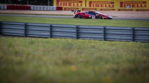 #52 AF Corse ITA Ferrari 488 GT3 Louis Machiels BEL / / Andrea Bertolini ITA Pro-Am Cup, Pre-Qualifying  | SRO / Patrick Hecq Photography
