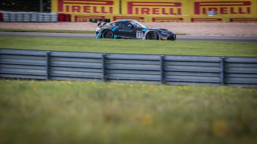 #57 Winward Racing USA Mercedes-AMG GT3 Russell Ward USA / / Mikael Grenier CAN Silver Cup, Pre-Qualifying  | SRO / Patrick Hecq Photography