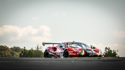 #33 Rinaldi Racing DEU Ferrari 488 GT3 David Perel ZAF Benjamin Hites CHL Patrick Kujala FIN Silver Cup, Pre-Qualifying  | SRO / Patrick Hecq Photography