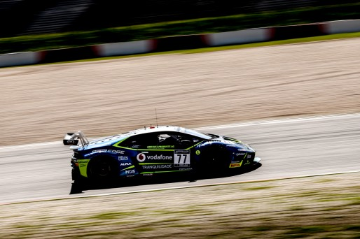#77 Barwell Motorsport GBR Lamborghini Huracan GT3 Evo Henrique Chaves PRT Miguel Ramos PRT Adrian Amstutz CHE Pro-Am Cup, Pre-Qualifying  | SRO / Patrick Hecq Photography