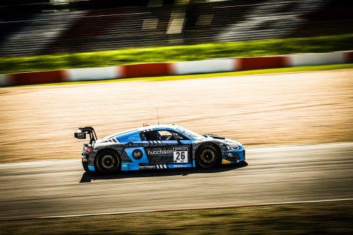 #26 Sainteloc Racing FRA Audi R8 LMS GT3 Markus Winkelhock DEU Finlay Hutchison GBR Frederic Vervisch BEL Pro Cup, Pre-Qualifying  | SRO / Patrick Hecq Photography