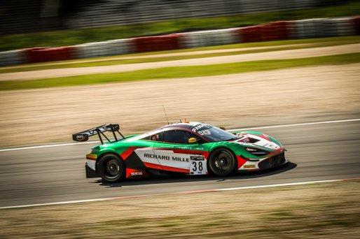 #38 JOTA GBR McLaren 720 S GT3 Ben Barnicoat GBR Oliver Wilkinson GBR Rob Bell GBR Pro Cup, Pre-Qualifying    SRO / Patrick Hecq Photography