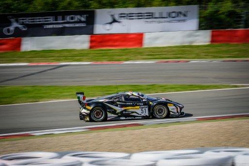 #51 Iron Lynx ITA Ferrari 488 GT3 Alessandro Pier Guidi ITA Côme Ledogar FRA Nicklas Nielsen DNK Pro Cup, Race  | SRO / Dirk Bogaerts Photography