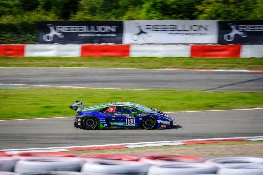 #163 Emil Frey Racing CHE Lamborghini Huracan GT3 Evo Norbert Siedler AUT Giacomo Altoè ITA Albert Costa ESP Pro Cup, Race    SRO / Dirk Bogaerts Photography