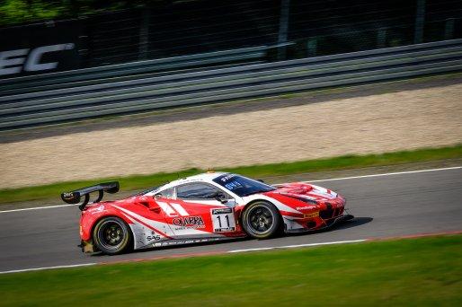 #11 Kessel Racing CHE Ferrari 488 GT3 Tim Kohmann DEU Francesco Zollo iTA Giorgio Roda ITA Pro-Am Cup, Race  | SRO / Dirk Bogaerts Photography