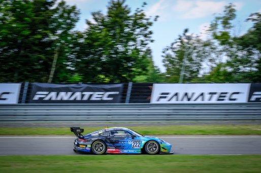 #222 Team Allied-Racing DEU Porsche 911 GT3-R (991.II) Bastian Buus DNK Joel Sturm DEU Julien Apotheloz CHE Silver Cup, Race  | SRO / Dirk Bogaerts Photography