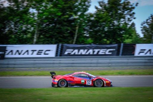 #52 AF Corse ITA Ferrari 488 GT3 Louis Machiels BEL / / Andrea Bertolini ITA Pro-Am Cup, Race  | SRO / Dirk Bogaerts Photography