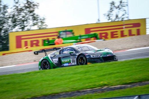 #66 Attempto Racing DEU Audi R8 LMS GT3 Mattia Drudi  ITA Nicolas Schöll DEU Christopher Mies  DEU Pro Cup, Race  | SRO / Dirk Bogaerts Photography