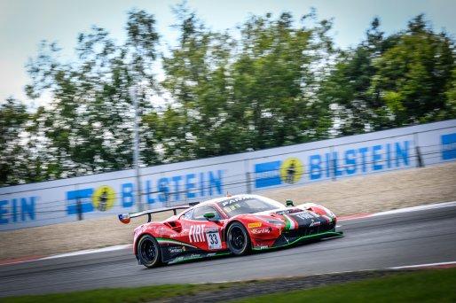 #33 Rinaldi Racing DEU Ferrari 488 GT3 David Perel ZAF Benjamin Hites CHL Patrick Kujala FIN Silver Cup, Race  | SRO / Dirk Bogaerts Photography