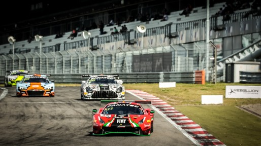 #33 Rinaldi Racing DEU Ferrari 488 GT3 David Perel ZAF Benjamin Hites CHL Patrick Kujala FIN Silver Cup, Race  | SRO / Patrick Hecq Photography